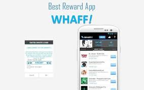 gift card reward apps earn real money easily by using android app whaff rewards