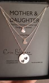 inspirational jewelry gifts two daughters necklace set inspirational jewelry