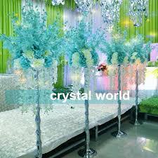 Wholesale Vases For Wedding Centerpieces Mental Vase Wedding Centerpiece Wedding Table Stand Decoration