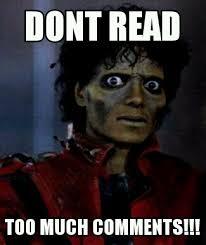 Meme Comments - michael jackson meme by raymondeternal on deviantart