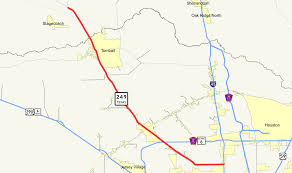 Map Of Conroe Texas Texas State Highway 249 Wikipedia