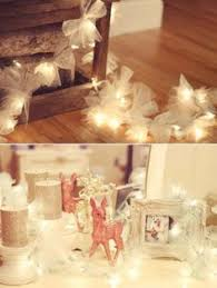 Decorating With Christmas Lights And Tulle by Tulle And Lights Garland Or Ribbons And Lights Made From String