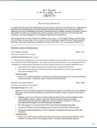 financial analyst resume word template 28 images financial
