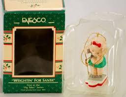 buy 1989 enesco treasury christmas ornaments christmas cook