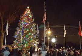 bright lights in the township clark tree lighting and winter