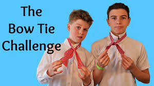 Challenge Tie Or Not The Bow Tie Challenge It S Not That Easy In The