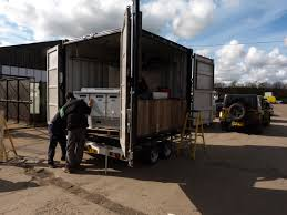container conversion for catering