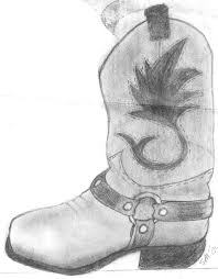 cowboy boot drawing royalnerd1 2017 jun 21 2010
