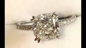 2 carat cushion cut diamond 2 carat cushion cut diamond engagement ring