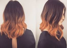 balayage triangular one length triangular layers summer hair