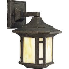 progress lighting p5628 46 1 light wall lantern with honey art