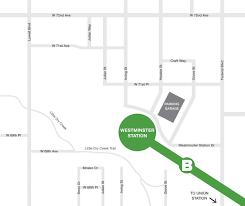 Lone Tree Colorado Map by Rtd B Line Stations U0026 Parking