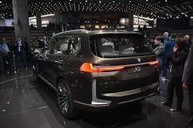 iaa frankfurt 2017 bmw concept x7 iperformance u2013 car machine news