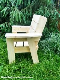 Morris Chair Plans Howtospecialist How by Last Summer I Built A Nice Adirondack Chair It Was Based On An