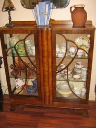 art deco china cabinet would fit art deco display cabinet ebay dining room furniture