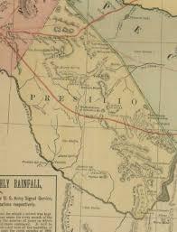 Old Texas Map Historic Maps Terlingua City Limits