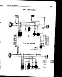honda xr500 wiring diagram honda wiring diagrams instruction