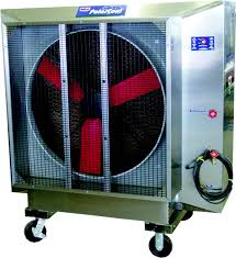 how to cool a warehouse with fans wet fans space heaters
