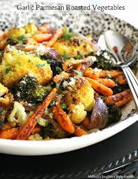 Balsamic Roast Beef In Oven Garlic Parmesan Roasted Vegetables Recipe Garlic Parmesan