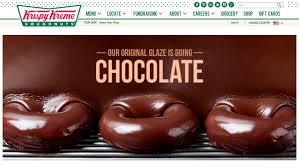 krispy kreme turning original glaze to chocolate for eclipse