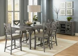 bar height dining room sets caroline 5pc xback chair cntrhght dining sets dining