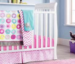Crib Bedding Set With Bumper 10pcs Baby Crib Bedding Set For Girls Cartoon Pink Cot Bedding
