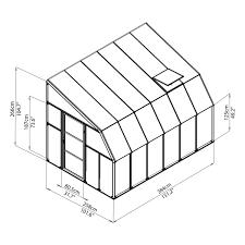 8 X 12 Greenhouse Kits Rion Sun Room 2 8 U0027 X 12 U0027 Lean To Greenhouse Lean To
