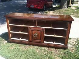 Turning Dresser Into Bookshelf Dresser To Entertainment Stand Conversion 6 Steps