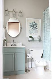 Small Bathroom Makeover Blue And Taupe Small Bathroom Makeovers Simple Small Bathroom