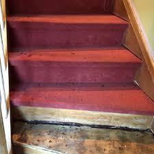 teppich treppe treppenrenovierung vorher nachher nr 4 parkett remel in datteln