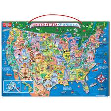 map usa framed framed magnetic us map united states of american map vintage
