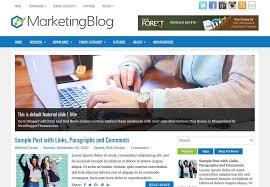 marketingblog blogger template free download 2018