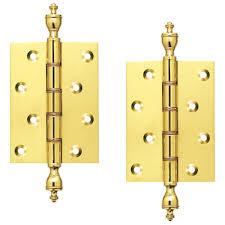 Brass Door Handles H03 Pb 4