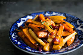 Spanish Root Vegetables - cider roasted root vegetables simplyrecipes com