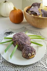 Kraft Halloween Appetizers Spider Taco Cheese Ball For Halloween Finding Zest