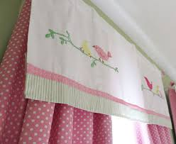 Polka Dot Curtains Nursery Pink And White Polka Dot Curtain Panels With A Window Valance