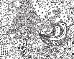 attractive zen coloring page 4 zen doodle coloring pages for
