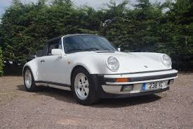 porsche whale tail porsche 911 turbo cabriolet 1988 south western vehicle auctions ltd