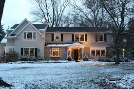 american home decorators decorating the outside of your house for christmas vintage