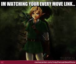 Link Meme - link and dark link by maythenyanbewithyou meme center