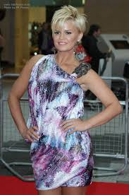 short frosted hair styles pictures kerry katona with very short hair