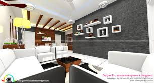 living room interior decors ideas kerala home design and living