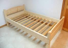 diy twin bed frame plans pdf king size platform bed plans easy