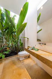Garden Bathroom Ideas by Architecture Beautiful Ourtyard And Pebbles Also Tropical Garden