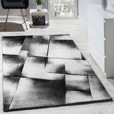 Wohnzimmer Design Modern Designer Teppich Modern Wohnzimmer Teppiche Kurzflor Meliert Grau