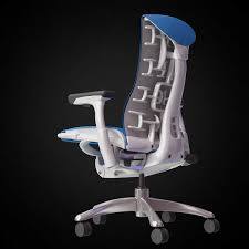 3d herman miller embody chair high quality 3d models