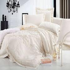 Silk Crib Bedding Set Beige Crib Bedding Set Tokida For