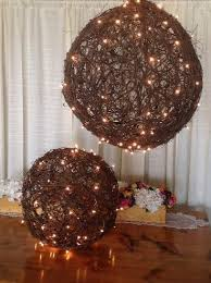 grapevine balls grapevine balls with lights premiere events