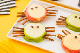 2 healthy halloween snacks to make with your kiddos brit co