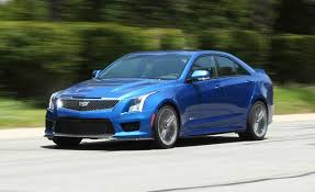 car and driver 2016 cadillac ats v sedan manual